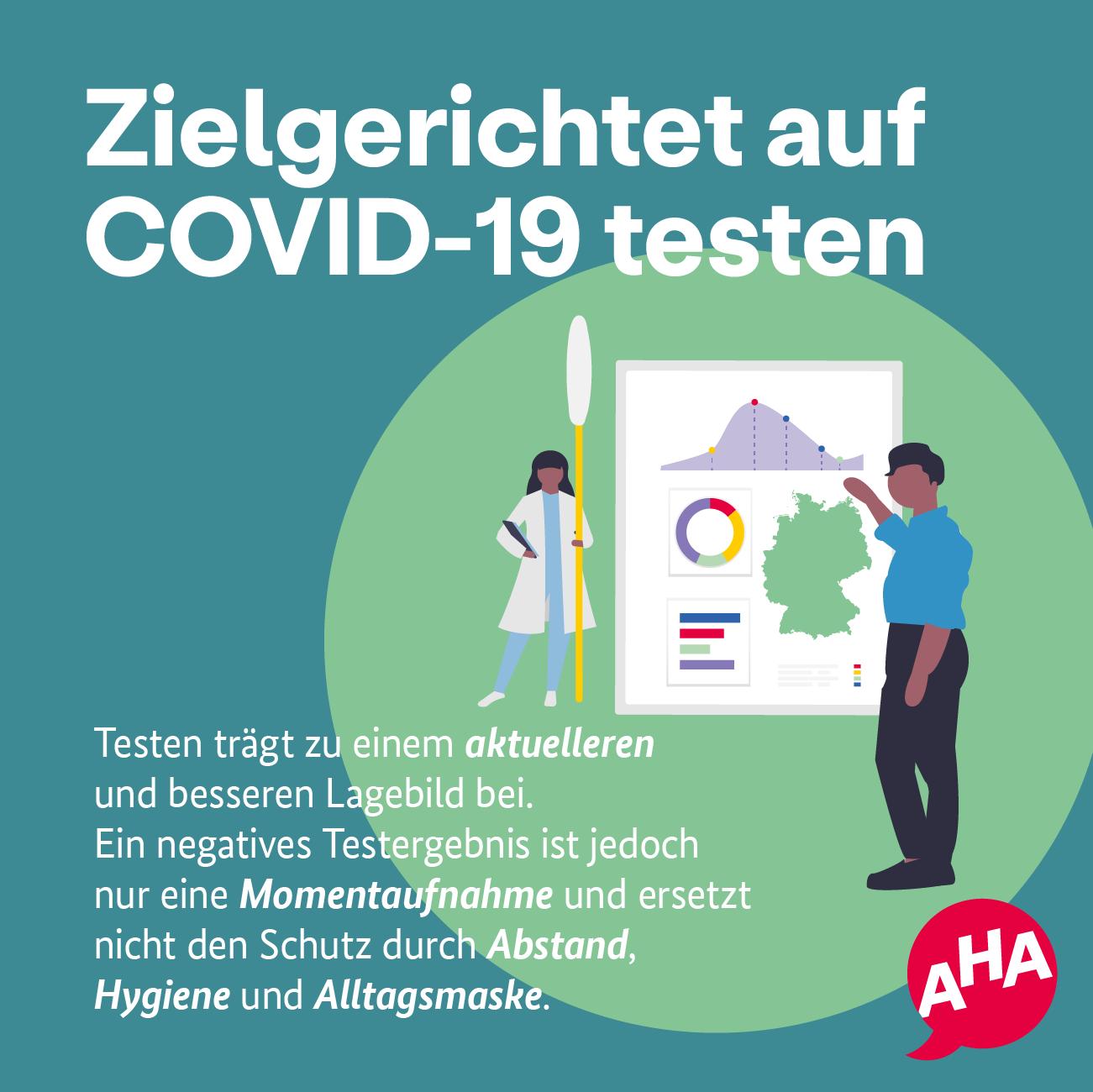 Zielgerichtet auf COVID-19 testen